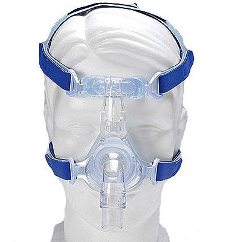 DeVilbiss EasyFit Silk Gel Nasal CPAP Mask with Headgear by ...