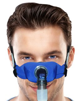 SleepWeaver Elan™ Soft Cloth Nasal CPAP Mask - Starter Kit by ...