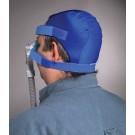 Philips Respironics Softcap Headgear, blue non-mesh