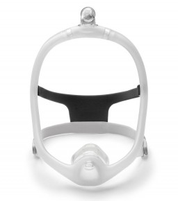 DreamWisp Nasal CPAP Mask with Headgear - Fit Pack (S, M, L Cushions Included)