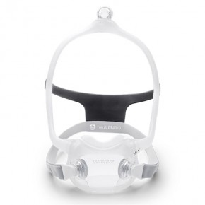 DreamWear Full Face CPAP Mask with Headgear (Small and Medium Frame Included)