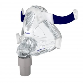 ResMed Quattro™ FX Full Face Mask Frame System with Cushion - No Headgear